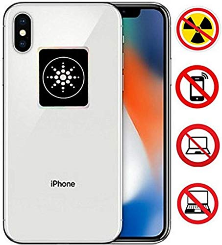 tion for CELLPHONES/Laptop - Anti EMF/EMR Radiation Sticker - Radiation Neutralizer Shield Blocker - Remove Electronic Technologies WI-FI, Bluetooth ()