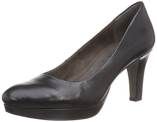 Tamaris Decolleté Leather Nero Chiuse 22403 Donna schwarz black 003 5rng5q