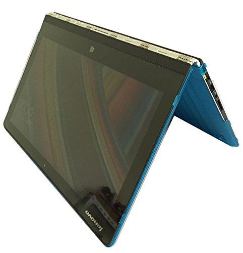iPearl mCover Hard Shell Case for 13.9 Lenovo Yoga 910 (NOT Fitting Yoga 4 Pro aka Yoga 900) multimode Laptop Computer (Aqua)