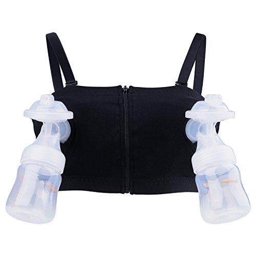 Madenal Hands Free Breastpump Bra Adjustable Pumping Nursing Bra Black Xs M Buy Online In Grenada At Grenada Desertcart Com Productid 63093920