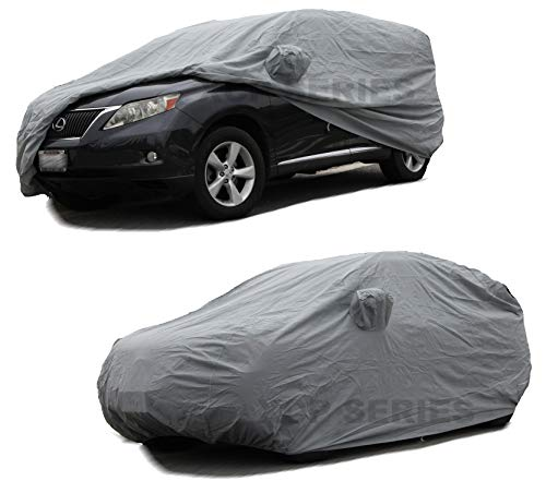 Lexus Rx330 Suv - 1999~2019 Lexus RX RX300 RX330 RX350 RX400h RX450h CAR Cover Lexus Accessories, Automobile Indoor/Outdoor Protection Dust Cover SUV Car Cover with Pocket Mirror (Space Gray)