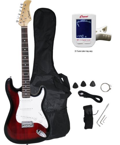"Crescent EG-TR 39"" Electric Guitar Starter Package - Tran..."