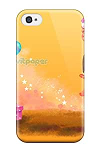 Kara J smith's Shop New Happy Girl Celebrant Tpu Cover Case For Iphone 4/4s