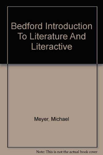 Bedford Introduction to Literature 7e & LiterActive