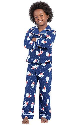 PajamaGram Polar Bear Fleece Boys Pajamas 10