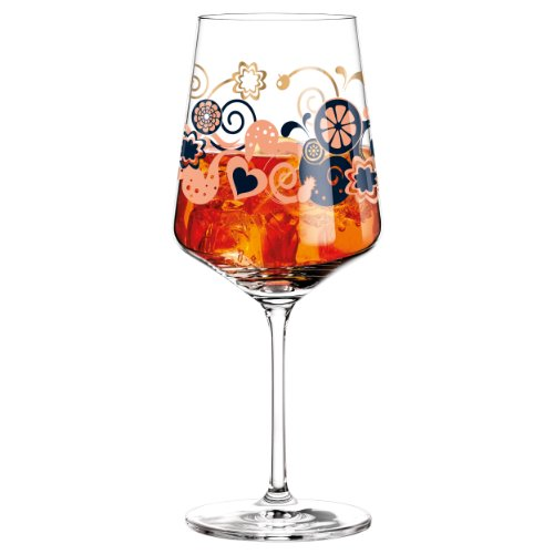 Ritzenhoff Aperizzo Aperitif Glass Designed by Shinobu Ito 2014, Multi-Colour