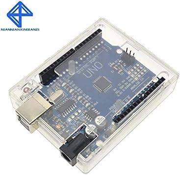 Caja transparente para Shell de Arduino UNO R3 MEGA328P (no incluye UNO R3): Amazon.es: Bricolaje y herramientas