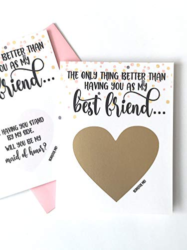 Top maid of honor proposal cards for 2019