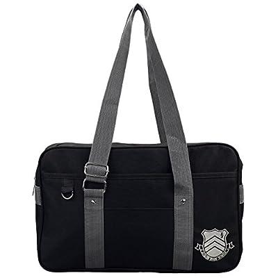 Mikucos Game Persona 5 P5 Joker High School JK Bag Uniform Shoulder Bags   Kids' Backpacks