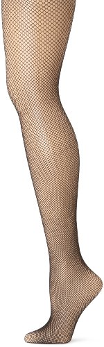 Capezio Women's Studio Basics Fishnet Seamless Tight,Black,Large/X-Large