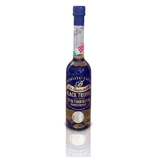 La Rustichella - Black Truffle Olive Oil - Small (100 ml, 3.4 fl oz) - Kosher