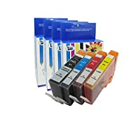 Compatible Ink Cartridges for HP 564XL 564 XL CN684WN CN685WN CN686WN CN687WN Photosmart 5510 5511 5512 5514 5515 5520 5522 5525 6510 6512 6515 6520 B209a B210a by Cool Toner from Cool Toner