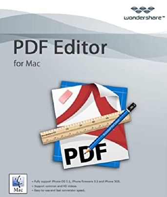 Wondershare PDF Editor for Mac [Download]