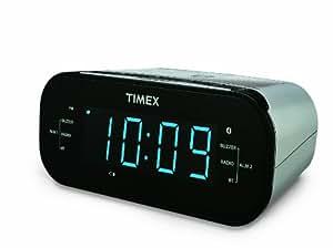 Amazon.com: Timex T331S Bluetooth AM/FM Dual Alarm Clock