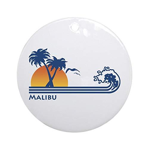 CafePress Malibu Ornament (Round) Round Holiday Christmas Ornament