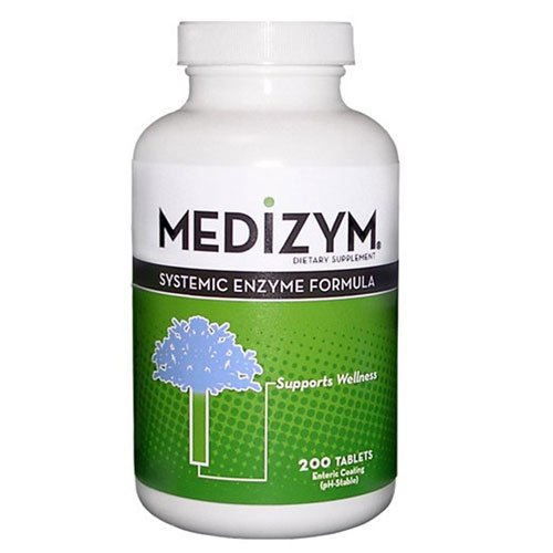 (Naturally Vitamins Medizyme - 200 Enteric Coated Tablets)