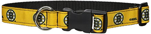 All Star Dogs Boston Bruins Pet Collar, Large