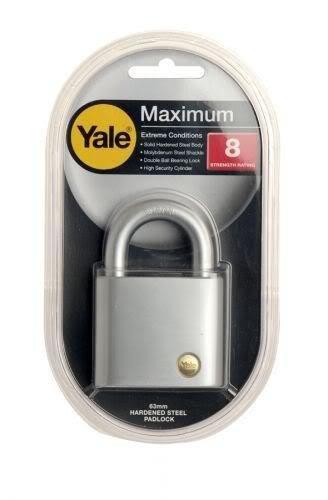 Amazon.com: Yale y300ss/63 – Candado (Extreme Condición/max ...