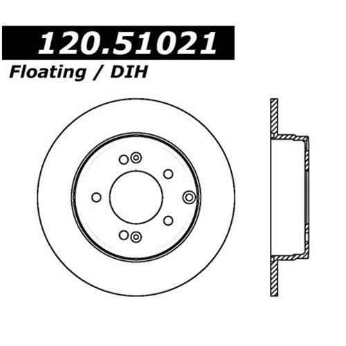 StopTech 120.51021CRY Brake Rotor
