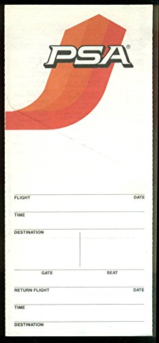 pacific-southwest-airlines-airline-ticket-wrapper-wallet-unused-3-1983-swoop