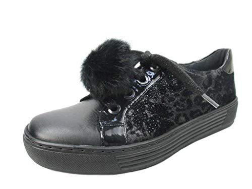 Chaussures Multi à pour Schwarz Solidus Lacets de Ville Femme fwng7