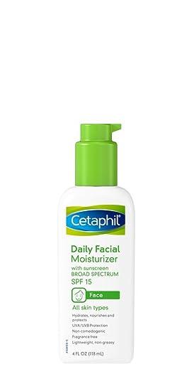 6 Pack Cetaphil Men Daily Face Lotion SPF 15 - 4 fl oz Each Neostrata Skin Brightener with Sunscren SPF 25 0.07 fl oz