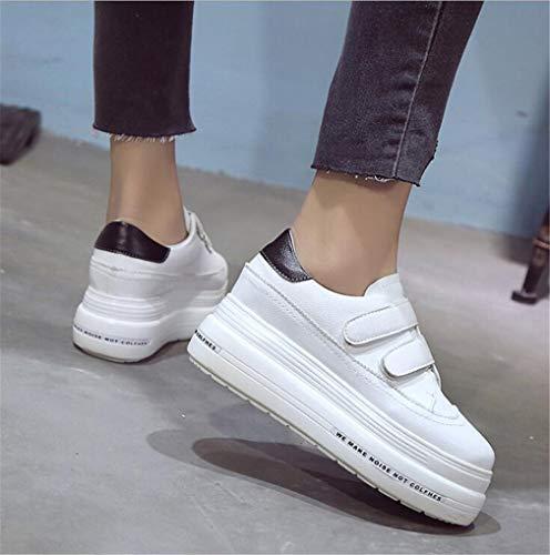 Damen Plattform Schuhe Unsichtbare der gehende Die beiläufige Starke Frauen Mode Schuhe Schuhe Schuhe Exing B Wilde Untere Zunahme Neue z47qAwWT