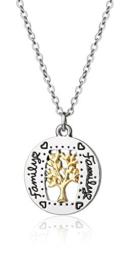 Majesto Inspirational Necklace for Women Teen Girls - 18K Gold-Plated - Fashion Jewelry - Prime Gift