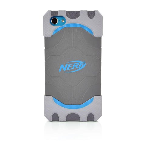 Nerf Elite Gaming Grip iPod Touch 5 Cover Blue/Orange