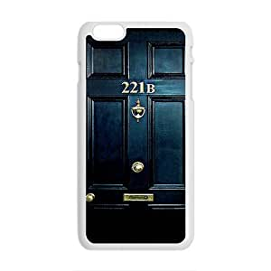 Happy 221B Door Cell Phone Case for Iphone 6 Plus