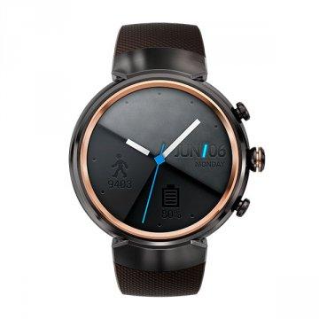 ASUS ZenWatch 3 WI503Q 1.39-inch AMOLED Smart Watch (Dark Brown Rubber Strap)