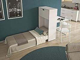Maconi - Mueble Cama Link 539-A de Madera de 85 cm - Acabado ...