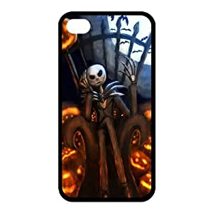 Customize Cartoon Movie Nightmare Before Christmas Back Case for iphone 4 4S JN4S-1997