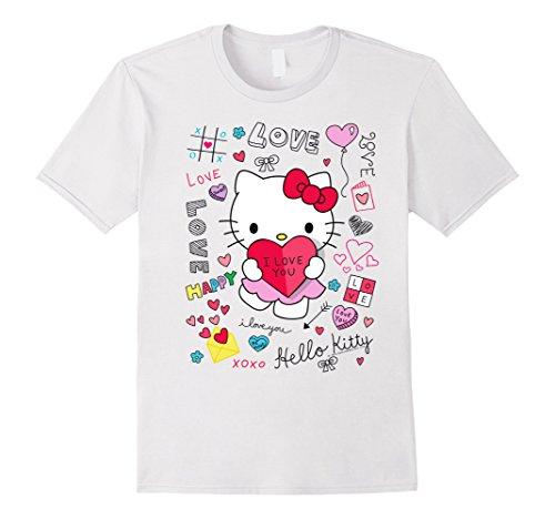(Hello Kitty Love Notes Valentine Tee)