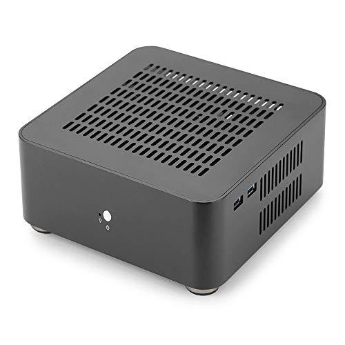 RGEEK Top Cover with Holes, Aluminum Mini ITX Computer Case PC Case HTPC, Good Heat Dissipation