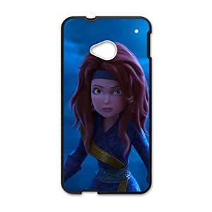 HTC One M7 Cell Phone Case Black Pirate Fairy 011 TJ2788349
