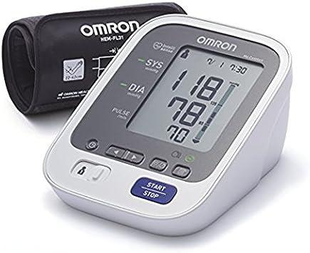 Omron Healthcare M6 Comfort Monitor de presión arterial automático de braz, memoria de hasta 200 mediciones