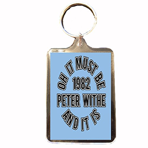 Footie Gifts Aston Villa F.C - Keyring (1982 European Cup Peter Withe)