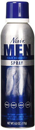 Nair Hair Remover Mens Spray 6 Ounce (177ml) (2 Pack)
