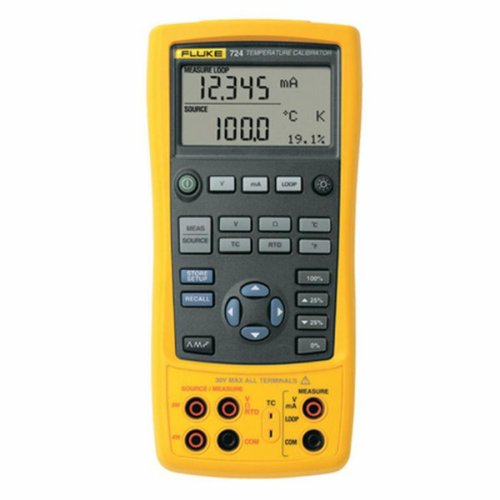 Fluke 724 Temperature Calibrator with a NIST-Traceable Calibration Certificate with Data