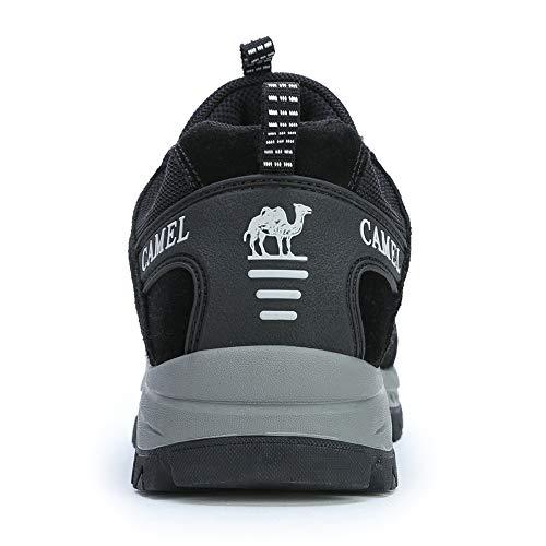 Outdoor Blanc Noir Randonnee Sport Crown Camel Confortable Pour Unisexe De Sneakers Chaussure Homme Trekking Et Respirant Zzxfwpq