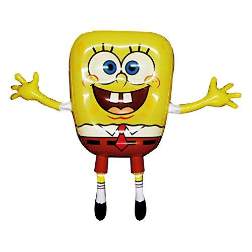 Sponge Bob inflatable S size approximately H40cm x W52cm x D6cm SPBTY268