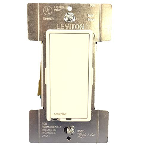 Leviton R10-6606-1LM Residential Grade Incandescent True Touch Dimmer Switch ()