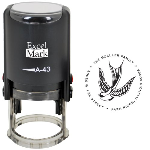 Custom Self Inking Address Stamp - Style 240