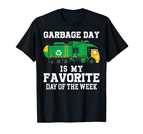 Garbage Man Halloween Costume Toddler (Garbage Day Recycling Trash Truck Shirt Kid Boy Gift T)