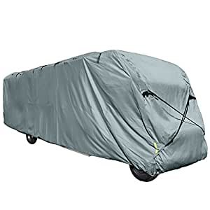 Budge Class A RV Cover Fits Class A RVs up to 37' Long (Gray, Polypropylene)