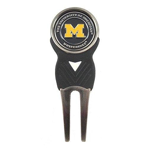 Golf Tool Divot Ball Cap (Michigan Wolverines Golf Divot Tool and Ball Marker)