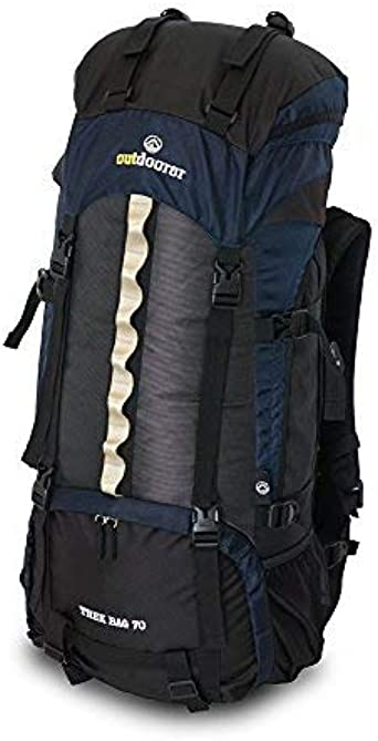 C1 Touren Rucksack Trekkingrucksack Tourenrucksack Trek Bag 70 von Outdoorer
