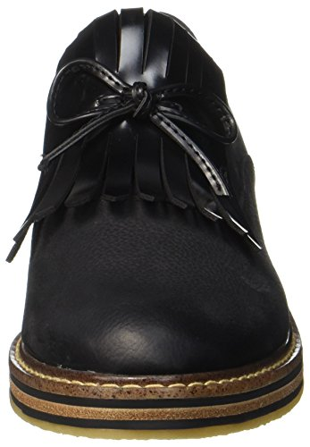 Ant Premio Tozzi Femme 24731 Black Mocassins comb Marco Noir x4qw6q