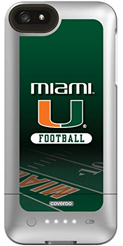 Coveroo Morphie Juice Pack Helium Case for iPhone 5s/5 - Retail Packaging - Miami Football Field ()